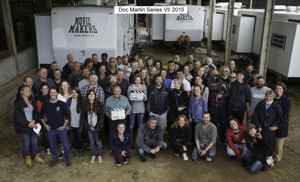 Doc Martin S7 Cast and Crew Picture