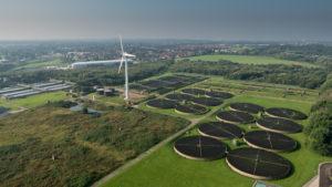 Aerial Image of Fazackerley WWTW
