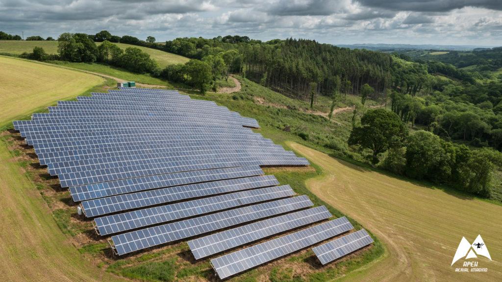 Solar Park Aerial Photography